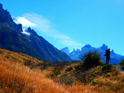 Scenic views while hiking in Chile